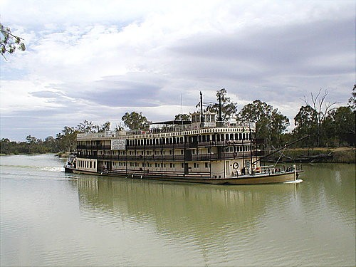 Morgan Paddle Steamer
