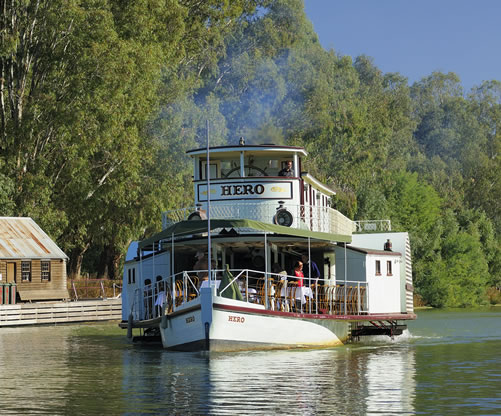 Echuca Paddle Steamer