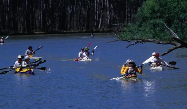 Murray River Marathon - Australian Kayaking Event